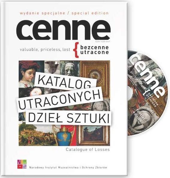 Katalog utraconych dzieł sztuki, 2013 Book Cover