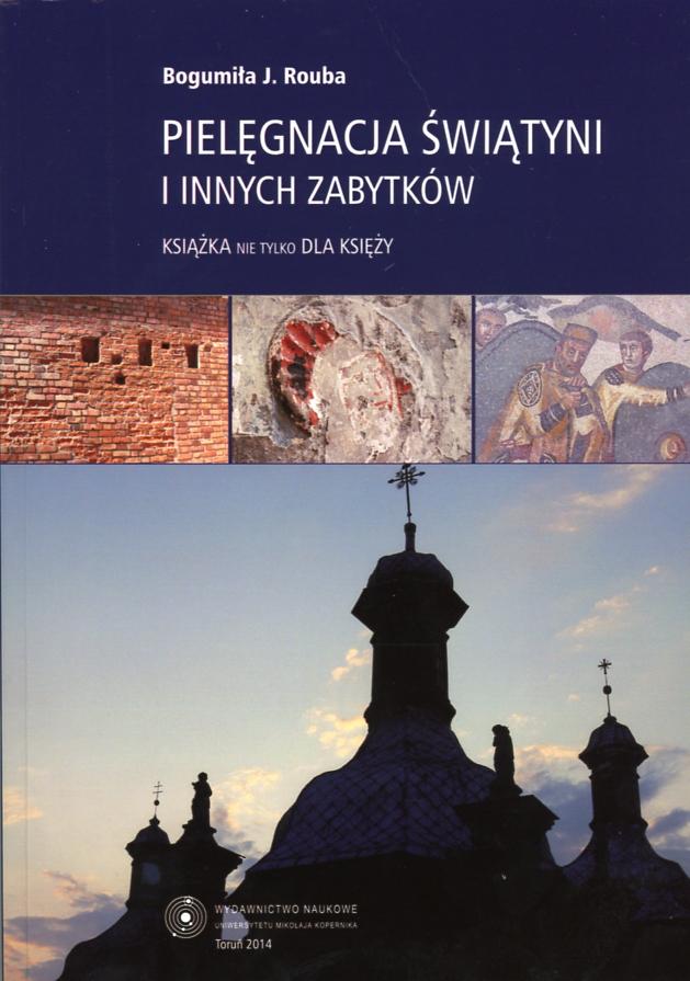 Pielęgnacja świątyni i innych zabytków. Książka nie tylko dla księży. Book Cover