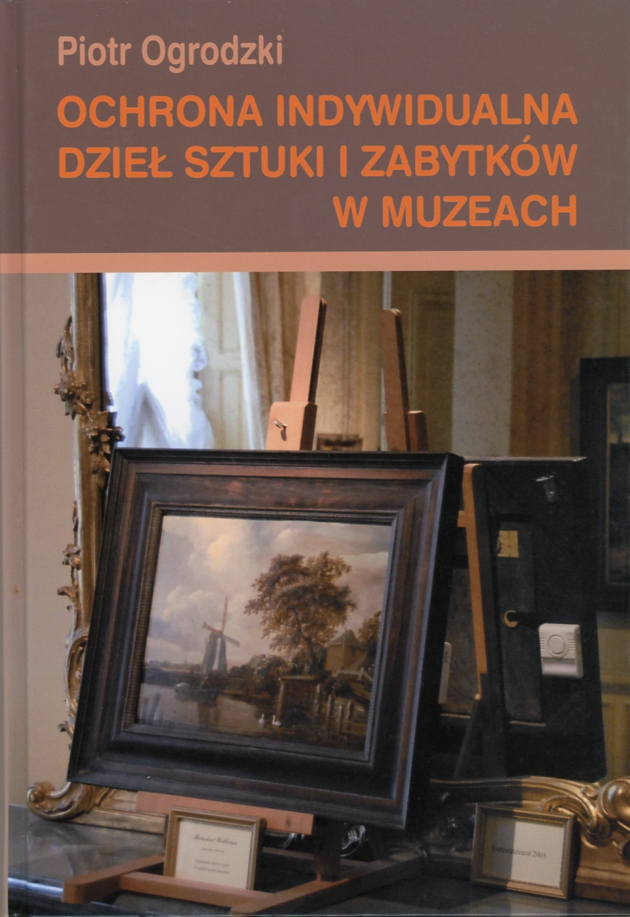 Ochrona indywidualna dzieł sztuki i zabytków w muzeach Book Cover