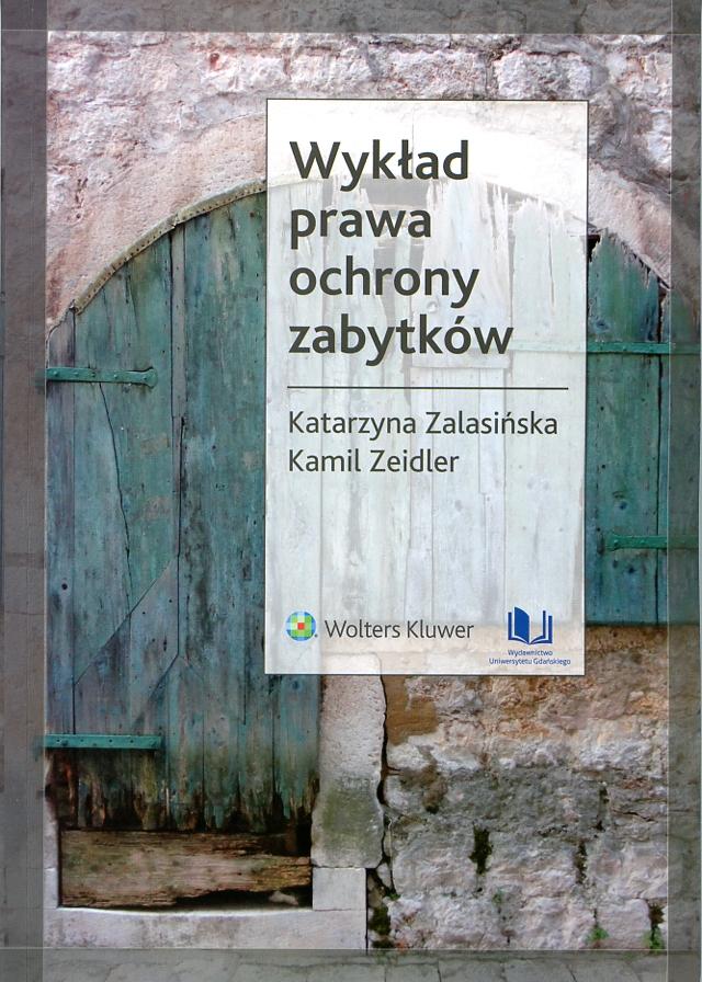 Wykład prawa ochrony zabytków Book Cover