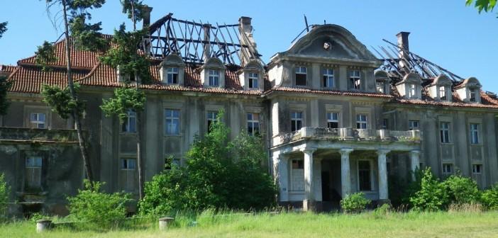 Pożar pałacu w Bełczu Wielkim