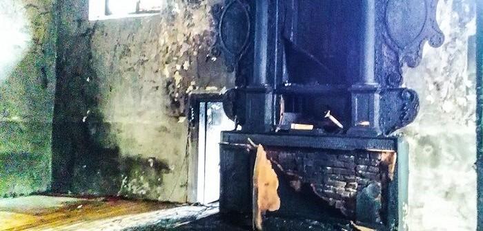 Pożar kościoła we Florczakach