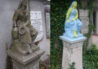 Przemalowano blisko 200 letnią figurę Matki Bożej