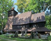 Spłonął drewniany kościół w Gutach