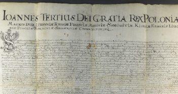 Cenny dokument powrócił do Archiwum Państwowego w Przemyślu
