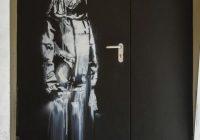 Skradziono dzieło Banksy'ego