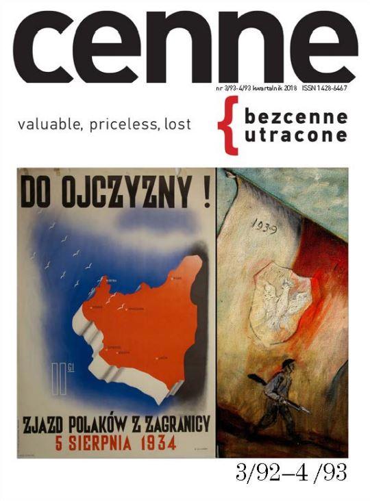 Cenne, bezcenne / utracone , 2018, Nr 3(92)-4(93) Book Cover