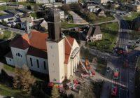Pożar kościoła w Gołańczy