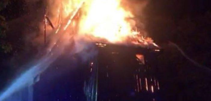 Pożar zabytkowego kościoła w Orłowie
