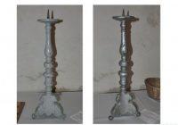Kradzież barokowych świeczników ołtarzowych