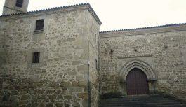 Pożar najstarszego kościoła w hiszpańskiej Plasencii