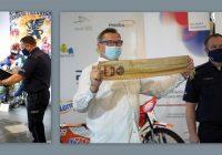 Szczęśliwy finał sprawy kradzieży na Wystawie 90 Lat Bydgoskiego Sportu Żużlowego w foyer Opery Nova