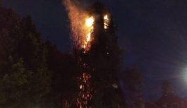 Pożar historycznego kościoła w stolicy Meksyku