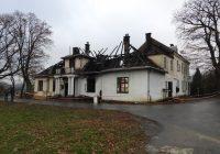 Pożar XIX-wiecznego dworu w Kobylanach