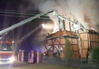 Pożar neogotyckiego kościoła w Kasparusie na Kociewiu