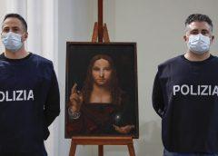 Kopia obrazu z pracowni Leonarda da Vinci odzyskana