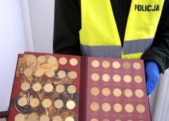 Rybniccy kryminalni odzyskali zegarki i monety kolekcjonerskie warte kilkadziesiąt tys. zł