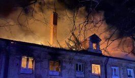 Pożar w kompleksie klasztornym w Lubiążu. Jedna ofiara śmiertelna