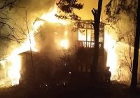 Pożar zabytkowej willi w Otwocku