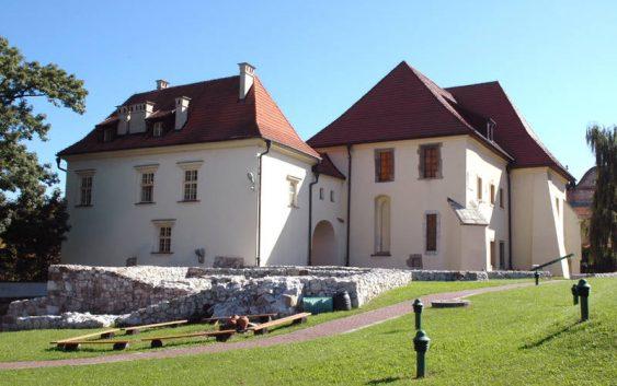 Zamek Żupny w Muzeum w Wieliczce..