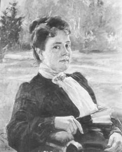 """Wojciech Kossak, """"Portret Anny z Kisielnickich Kossakowej"""", 1903"""