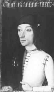 """Mistrz Portretów Książęcych, """"Portret mężczyzny"""", koniec XV w."""