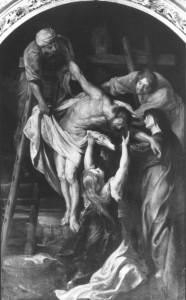 """Peter Paul Rubens, """"Zdjęcie z krzyża"""", 1615-1617"""
