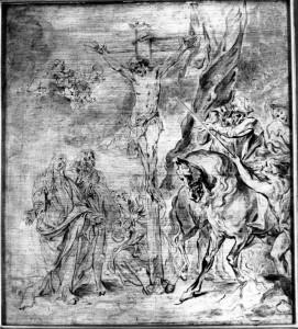 "Antoon van Dyck, ""Ukrzyżowanie"", ok. 1630"